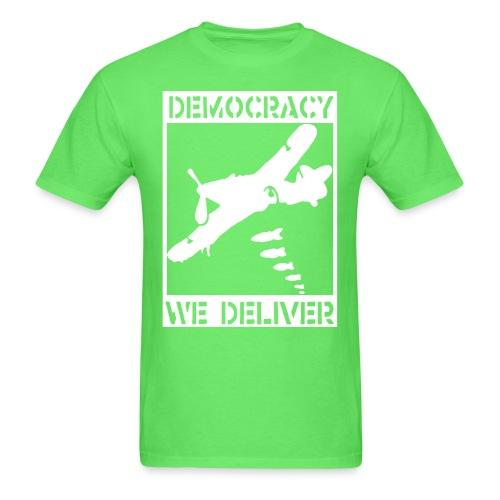 Democracy we deliver