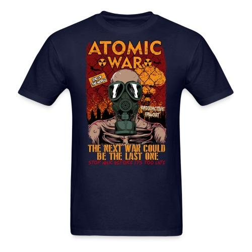 Atomatic war - the next war could be the last one. Stop war before it's too late