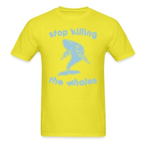 Stop killing the whales