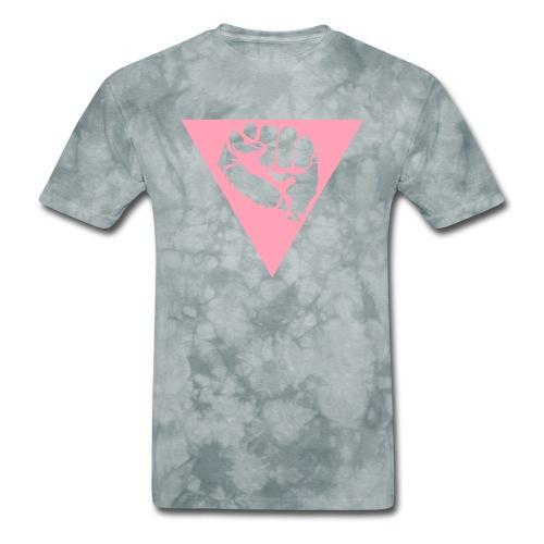 Queer pink triangle