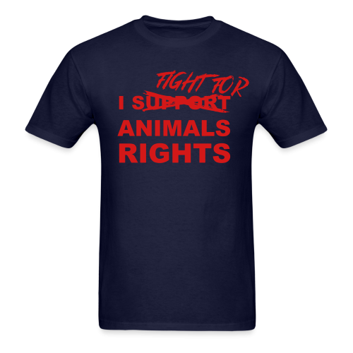 I fight for animals rights