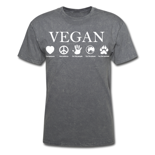 Vegan - compassion, nonviolence, for the people, for the planet, for the animals